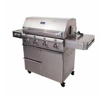 barbecue au gaz Saber Grill en acier inoxydable